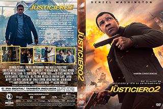 The Equalizer 2 - El Justiciero 2 - Cover DVD